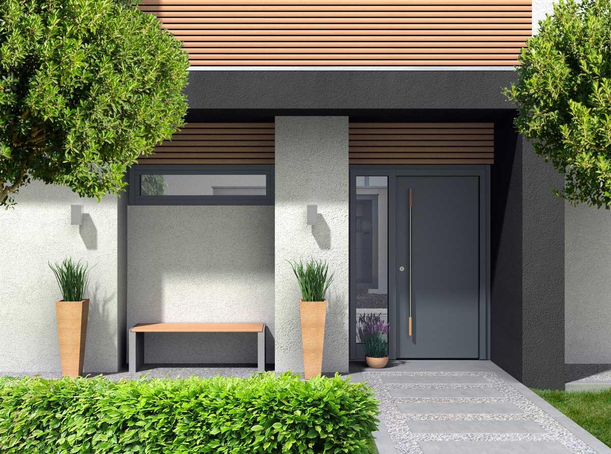 Aluminium Residential Doors Stoke-On-Trent